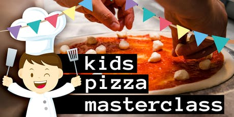 Kids Pizza Masterclass with Lunch - School Holidays July tickets