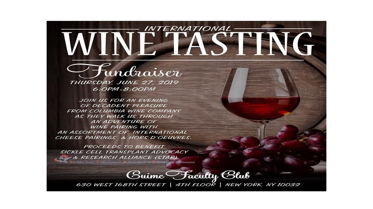 STAR - International Wine Tasting Fundraiser