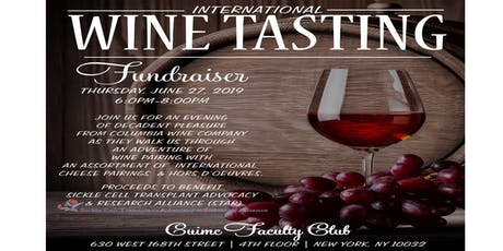 STAR - International Wine Tasting Fundraiser tickets