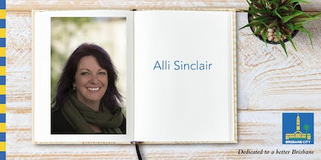 Meet Alli Sinclair - Chermside Library tickets