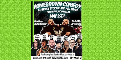 Homegrown Comedy @ Bridge Storage & Art Space