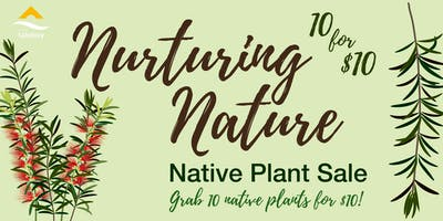 Nurturing Nature - Native Plant Sale 2019