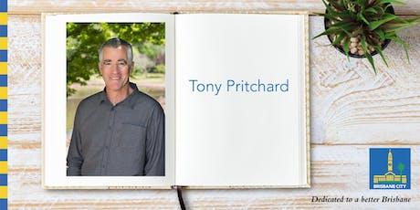 Meet Tony Pritchard - Brisbane Square Library tickets