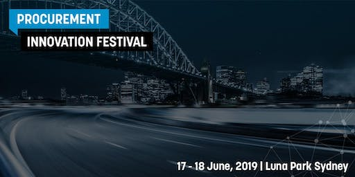 Procurement Innovation Festival 2019 - SPEAKER REGISTRATION