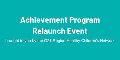 Achievement Program Relaunch Event