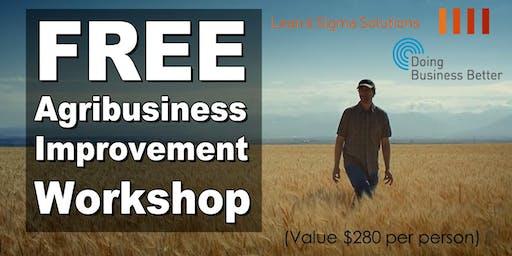 FREE Agribusiness Improvement Workshop - Birchip