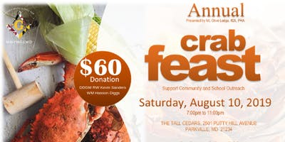 Mount Olive #25 Annual Crab Feast