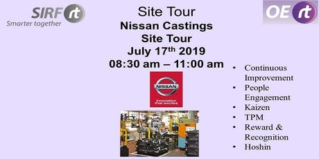 SIRF - Nissan Castings Site Tour tickets