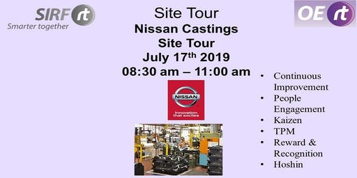 SIRF - Nissan Castings Site Tour
