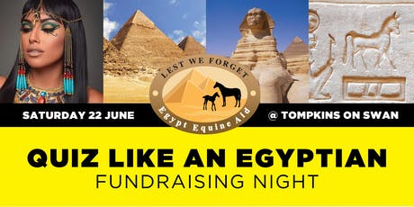 Quiz Like An Egyptian Fundraising Night tickets