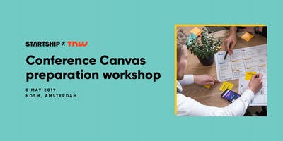 The Next Web 2019: Conference Canvas workshop organised by Startship & TNW