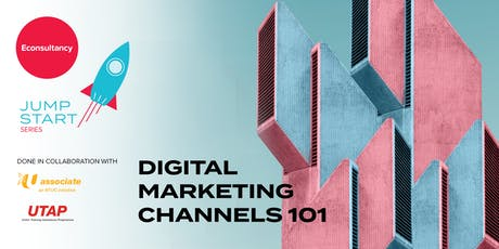 Jumpstart Series: Econsultancy's Digital Marketing Channels 101 tickets