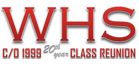 Westchester High School  c/o 1999's 20th Year Reunion tickets