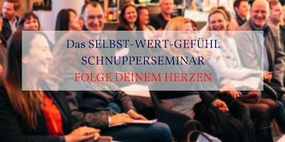 Das SELBST-WERT-GEFÜHL SCHNUPPERSEMINAR in FRANKFURT