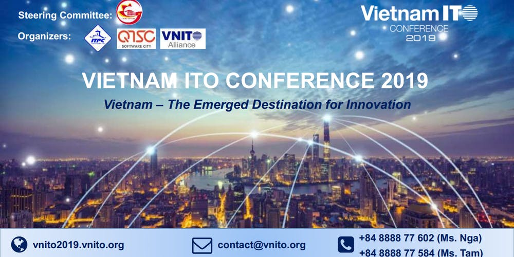 Vietnam ITO Conference 2019 Tickets, Thu, Oct 24, 2019 at 8
