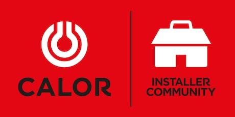Calor Installer Training Day 25th October 2019 tickets