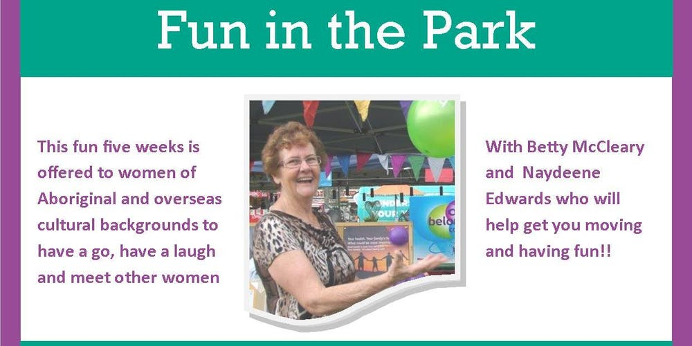 FREE! FUN in the PARK - FITNESS CIRCUIT Thursday Afternoons at 5 30