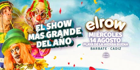 elrow Barbate entradas