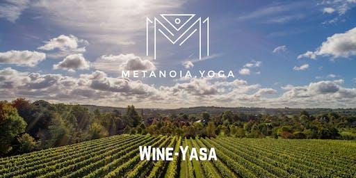 'Wineyasa' When Yoga and wine tasting unite