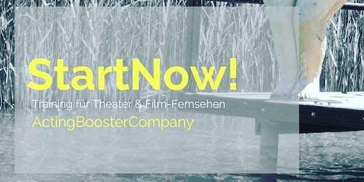 StartNow! - Selbstmarketing Programm für Schauspieler