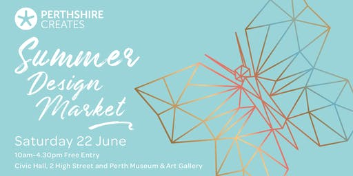 Stall payment Perthshire Creates Summer Design Market 2019
