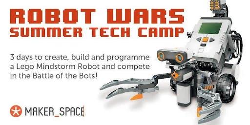 Robot Wars Summer Tech Camp
