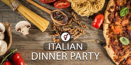 Italian Dinner Party | F 35-45, M 37-47 | June tickets
