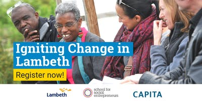 Igniting Change in Lambeth - info and recruitment sessions