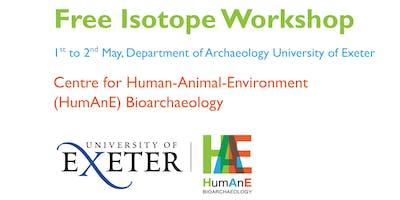 Isotope Workshop, HumAnE Centre, University of Exeter