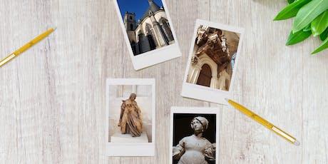 """Ateliers """"C'est mon patrimoine"""" - session août  billets"""