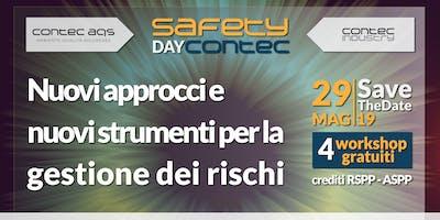 SAFETY DAY CONTEC   Nuovi approcci e nuovi strumenti per la  gestione dei rischi