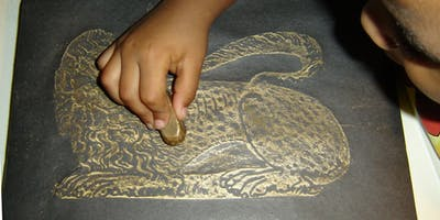 Brass Rubbing with Ramsey Rural Museum
