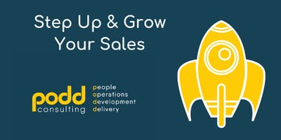 Step Up & Grow Your Sales - Revenue Workshop for Hospitality Businesses