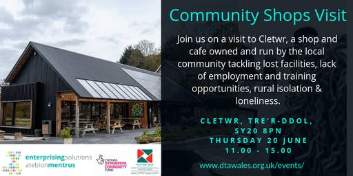 Community Shop Visit Clewtr 20 June 2019
