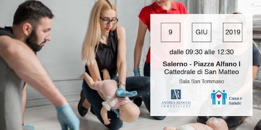 Corso  divulgativo GRATUITO di primo soccorso pediatrico a Salerno