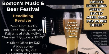 Boston's Music and Beer Festival tickets