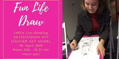 Fun Life Draw: Open Life-Drawing Event / Schnupper
