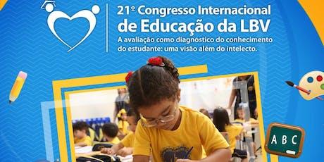 CONGRESSO INTERNACIONAL DE EDUCAÇÃO DA LBV ingressos