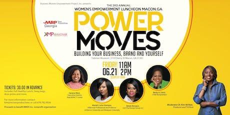 P.O.W.E.R. MOVES 3rd Annual Women's Empowerment Luncheon MACON, GA.tickets