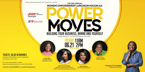 P.O.W.E.R. MOVES 3rd Annual Women's Empowerment Luncheon MACON, GA.