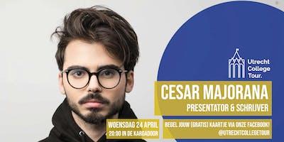 Cesar Majorana bij Utrecht College Tour