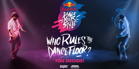 Red Bull Dance Your Style Belgium billets