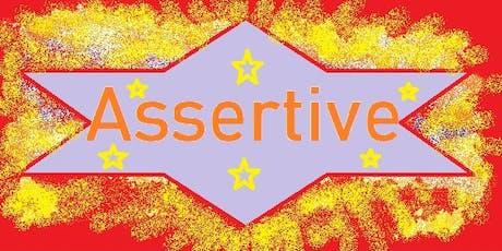 WayfinderWoman Presents: Assertiveness tickets