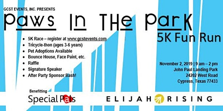 Paws In The Park tickets