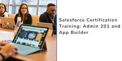 Salesforce Admin 201 and App Builder Certification Training in Danville, VA