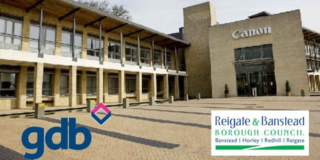 gdb AGM 2019 co-hosted by Canon UK and Reigate & Banstead Borough Council  tickets