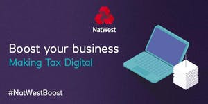 Making Tax Digital #MTD with #NatWestBoost and A4G...