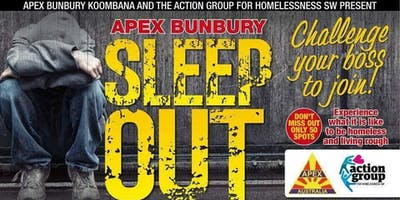 Apex Bunbury Sleep Out 2019