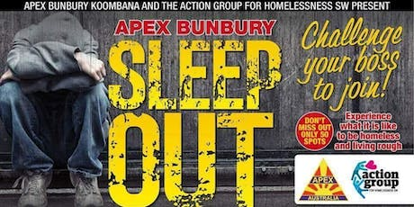 Apex Bunbury Sleep Out 2019 tickets