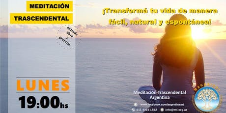 CABA, Lunes 19:00 horas - Charla Informativa sobre Meditación Trascendental entradas